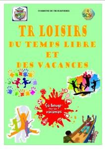 TR LOISIRS DU TEMPS LIBRE ET VACANCES 2015