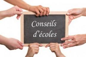 Délègues Conseil Municipal représentant la commune au sein des Conseils  d'Écoles