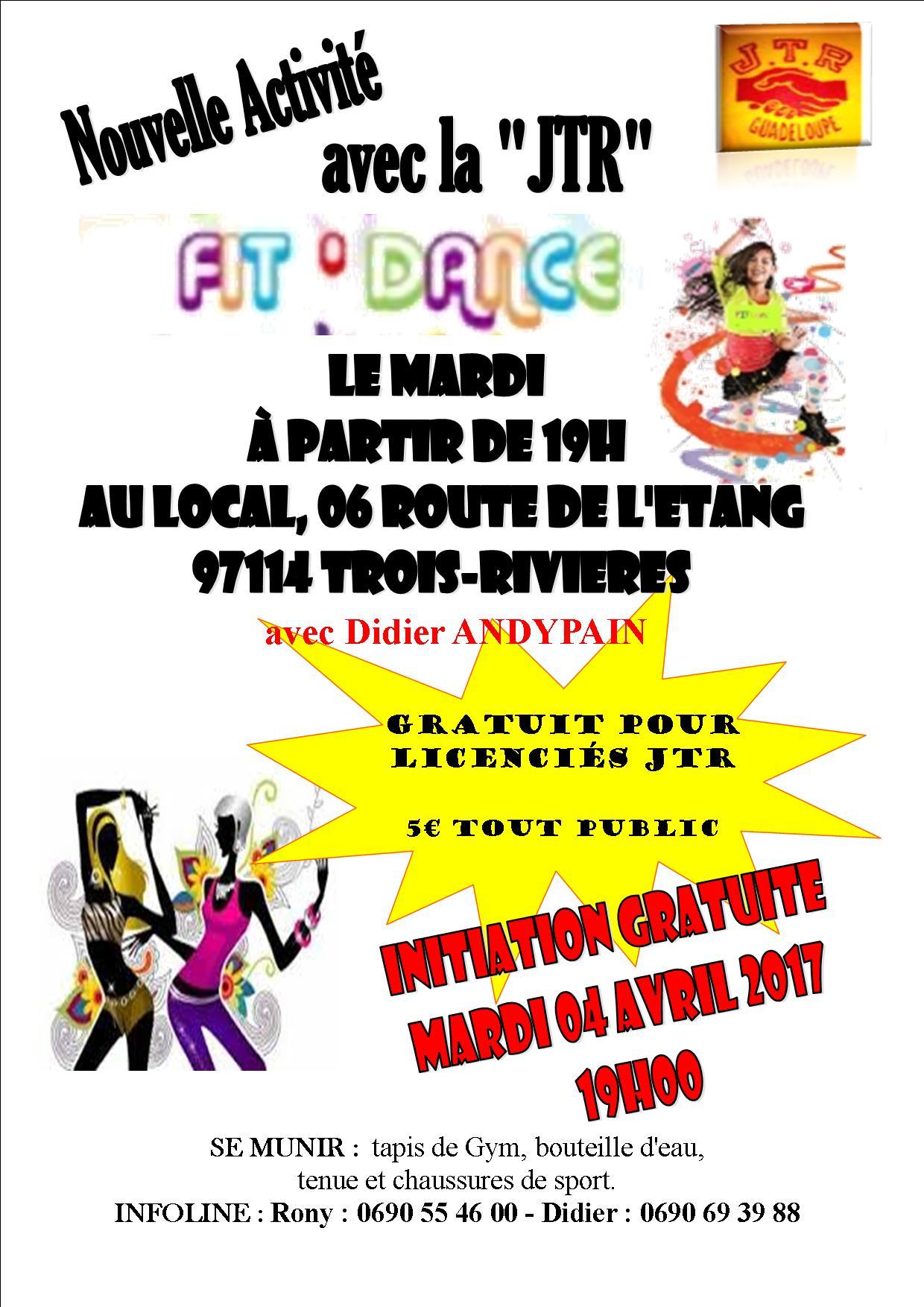Affiche fit dance