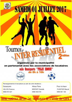 Tournoi sportif inter-résidences