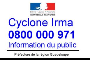 Un numéro d'appel pour informer la population
