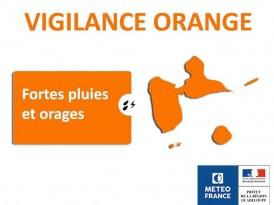 La Guadeloupe en alerte orange cyclonique
