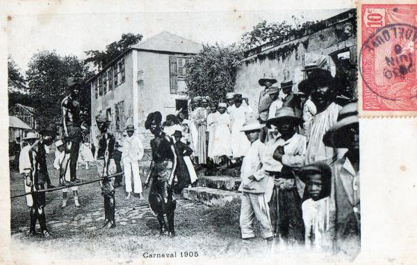 Carnaval Guadeloupe 1905