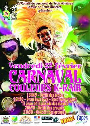 Carnaval couleurs K-raïb de Trois-Rivières