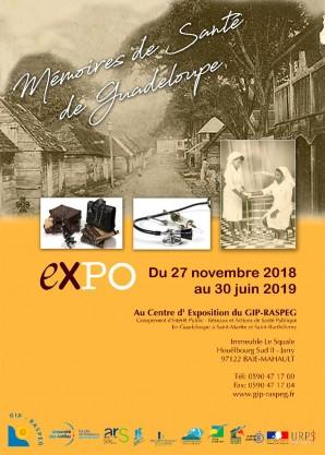 Exposition Mémoires de Santé de Guadeloupe