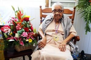 Madame Ernestine Siméon a passé le cap des 100 ans