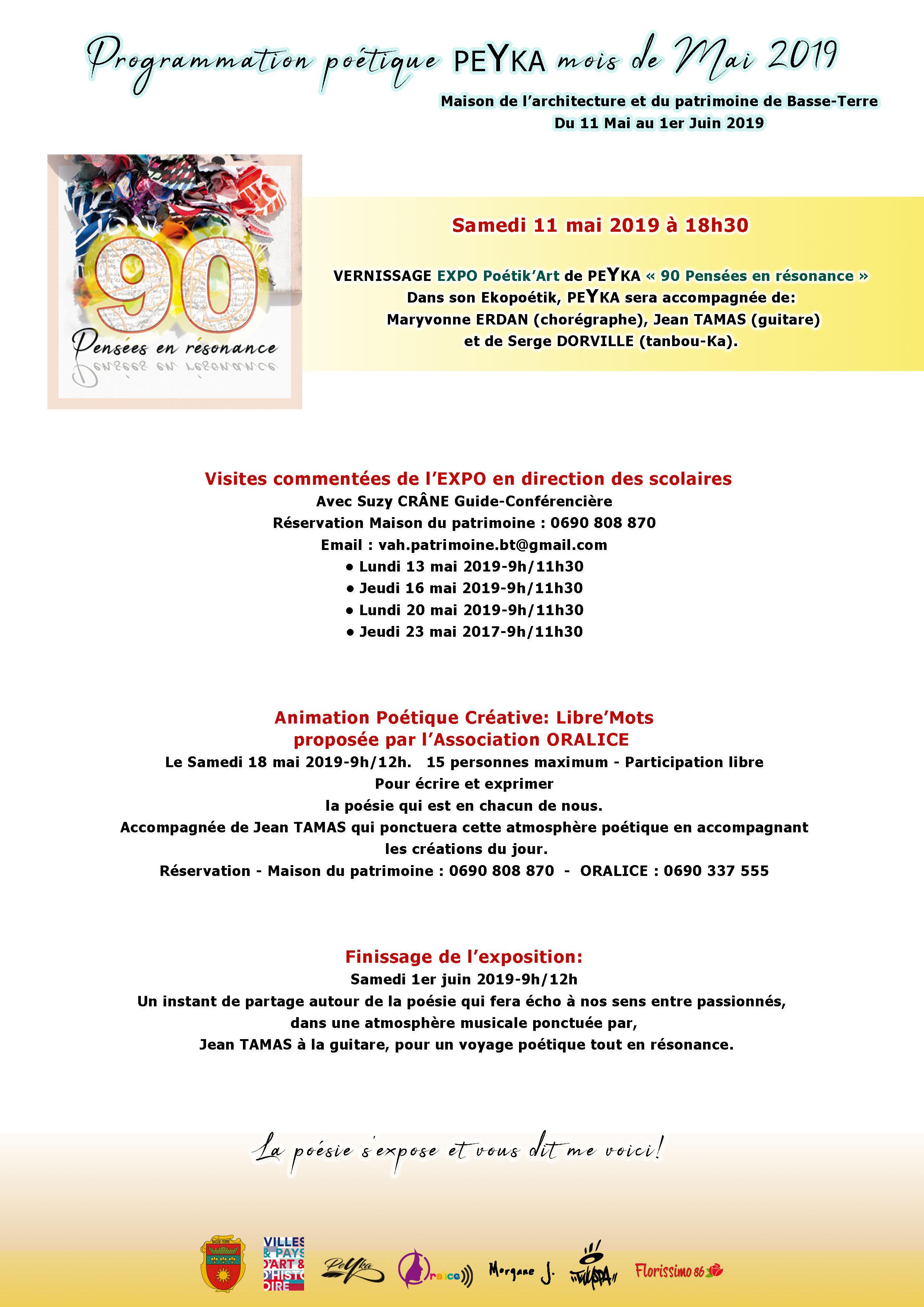 01mai programme expo PEYKA