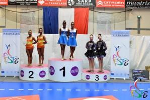 Les cadettes d'Hibiscus d'or sacrées championnes de France
