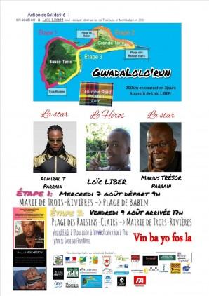 Gwadalolo Run en soutien à Loïc Liber