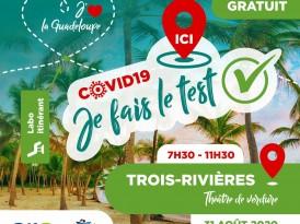COVID-19, dépistage à Trois-Rivières